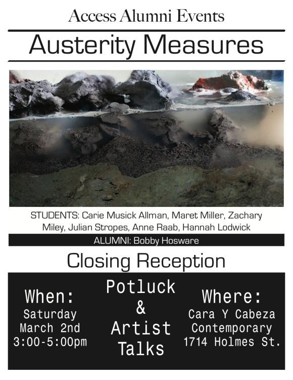 AAE Austerity Measueres