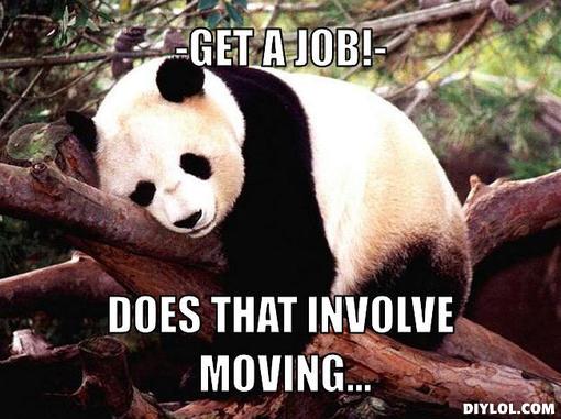 procrastination-panda-meme-generator-get-a-job-does-that-involve-moving-f003f7